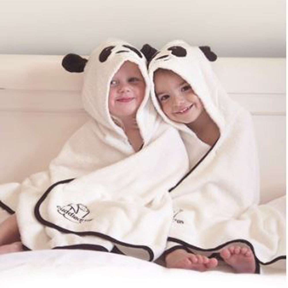 Cuddlepanda Bamboo Soft Hooded Towel