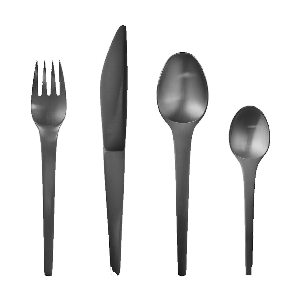 Caravel Cutlery Set Black