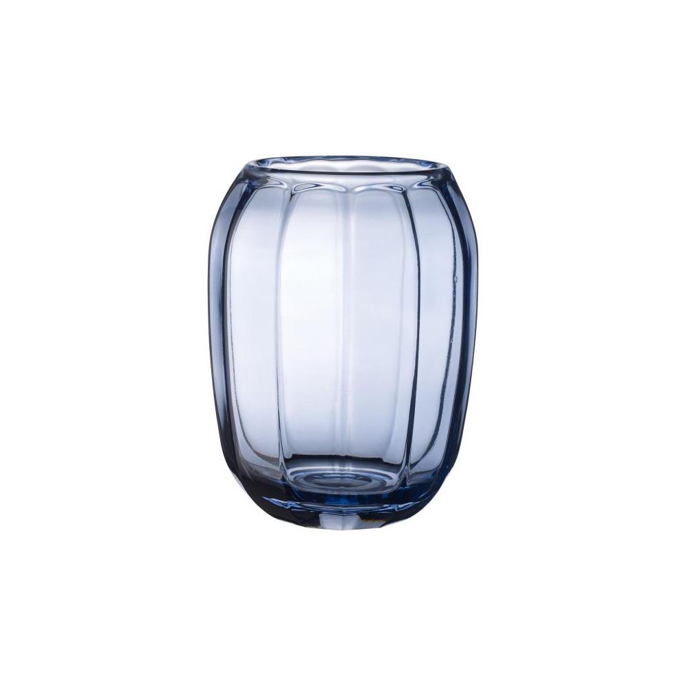 Coloured Delight Tea Light Holder 15cm, Winter Sky
