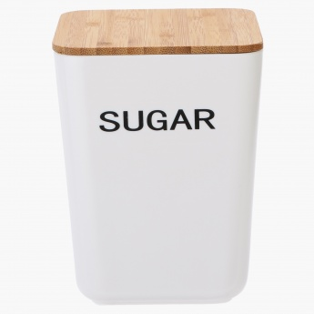 Peony Sugar Canister with Lid