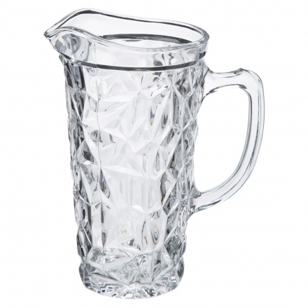 Ice Cube Pitcher 1.4 Ltr and Ice Cube Galass - Set of 6