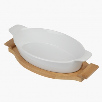 Naturelle Bake and Serve Dish Oval & Square