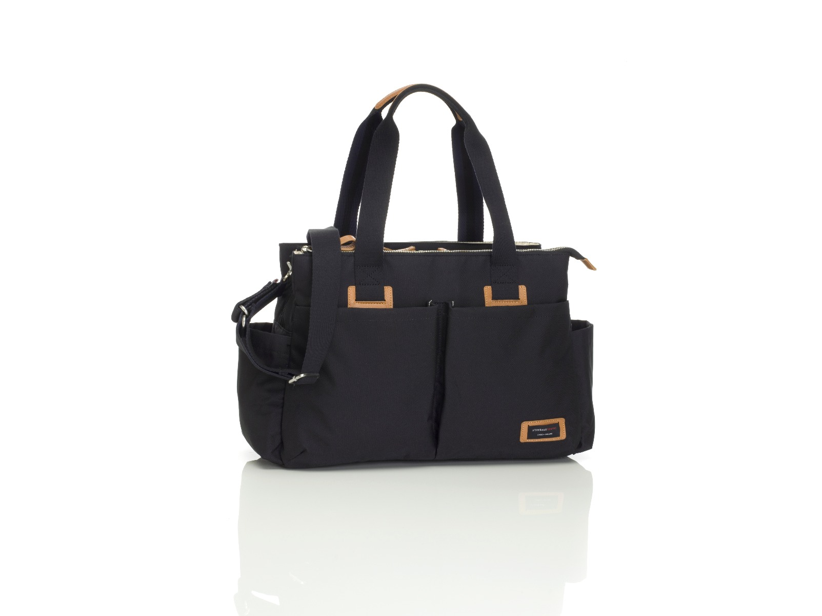 Storksak Shoulder Bag Black