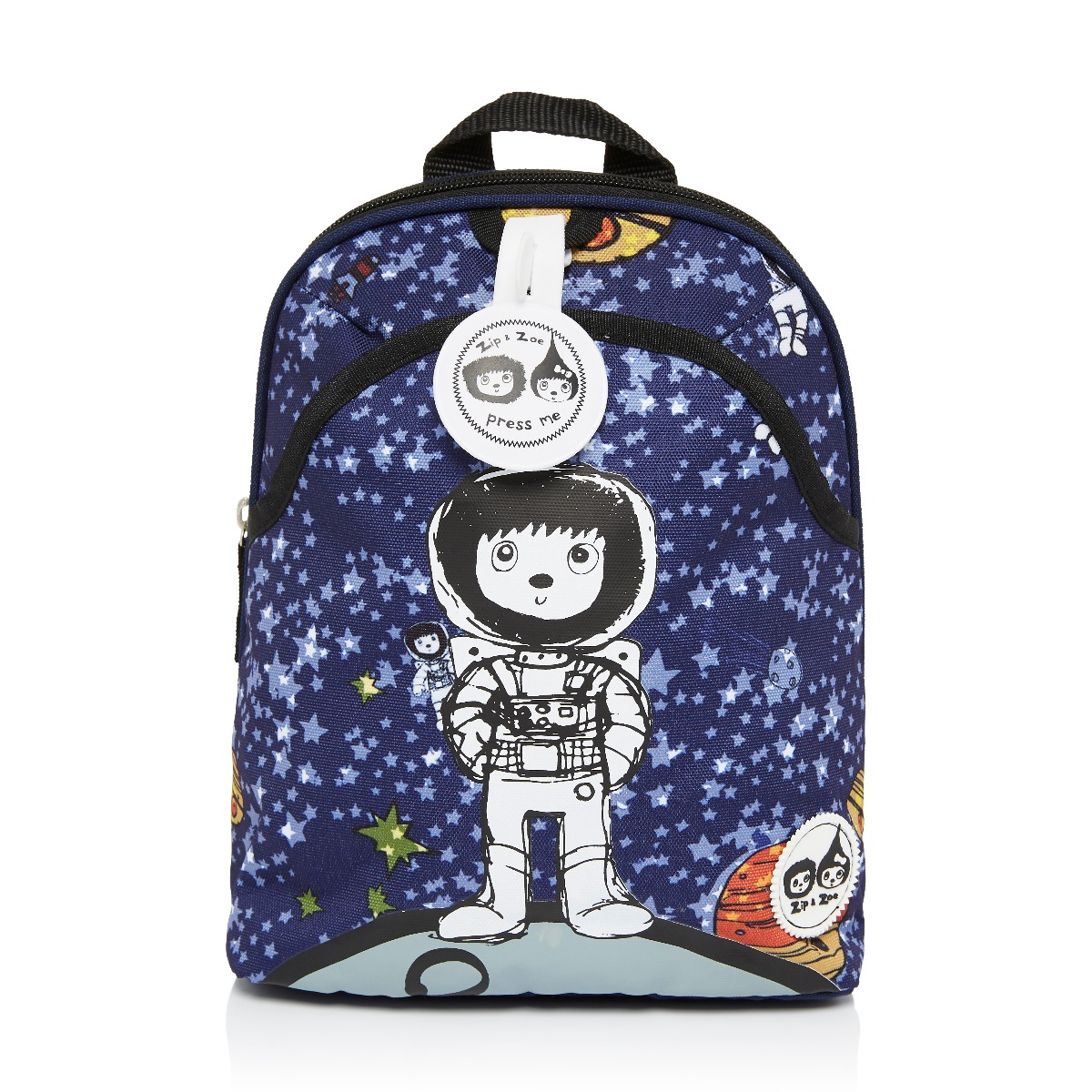 Zip and Zoe Mini Backpack+ Safety Harness (1-4Y) Spaceman