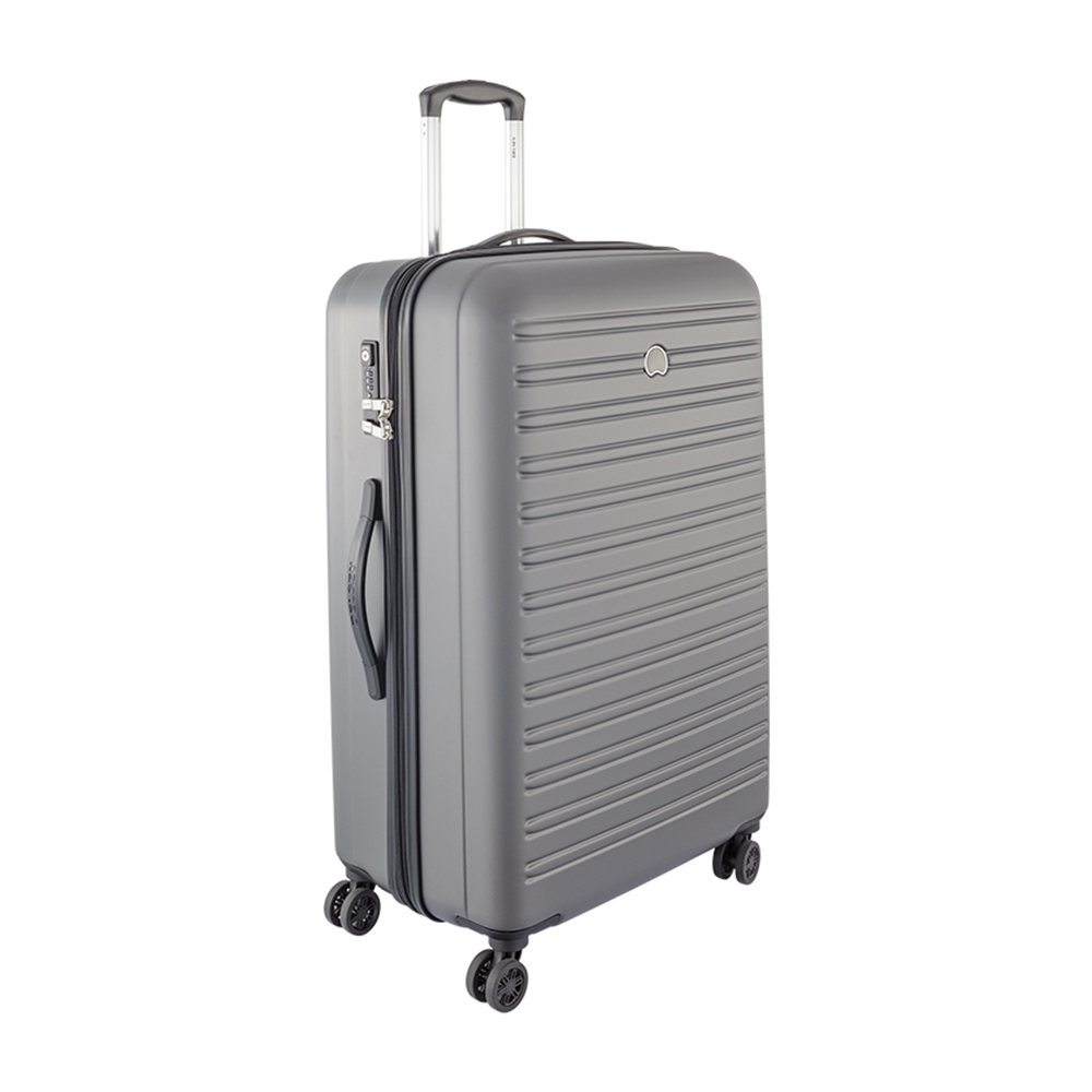 Delsey Segur 82Cm 4 wheel Trolley - Grey