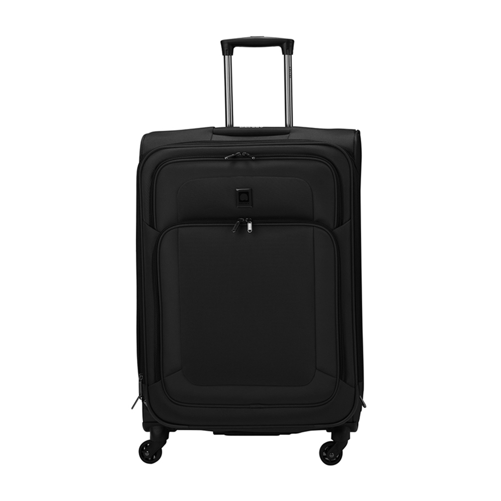 Delsey Grasse 80cm 4 wheel Trolley - Black