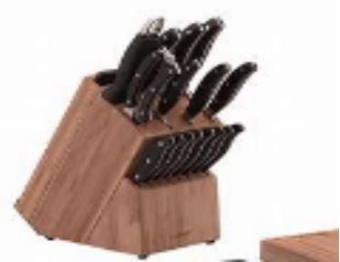 NATURELLE 5 PC BAMBOO HANDLE KNIFE SET