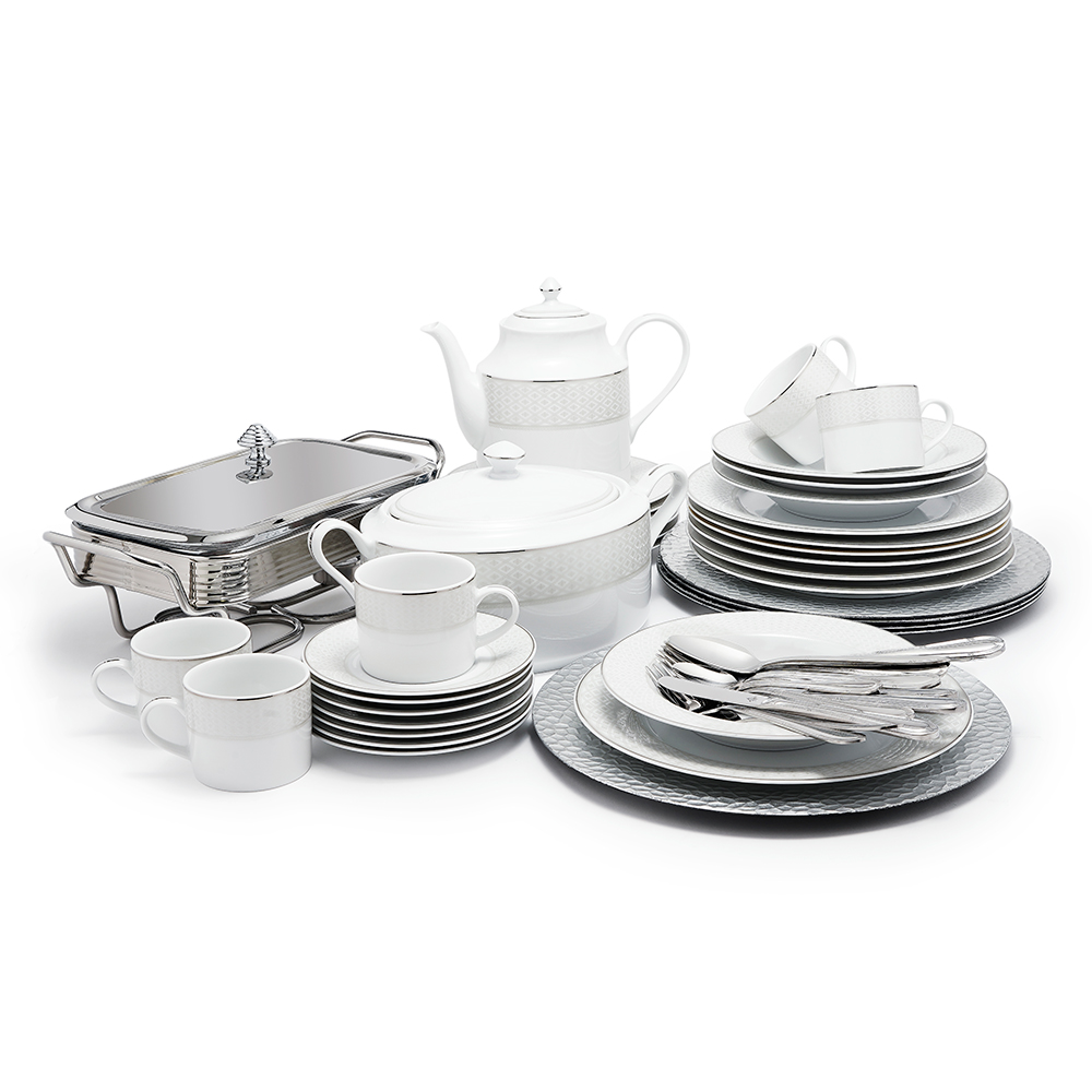 Roxie Plat Dinner Set 83Pcs