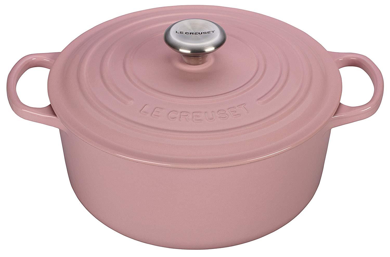 Chiffon Pink Round Casserole - 24cm (4.2L)