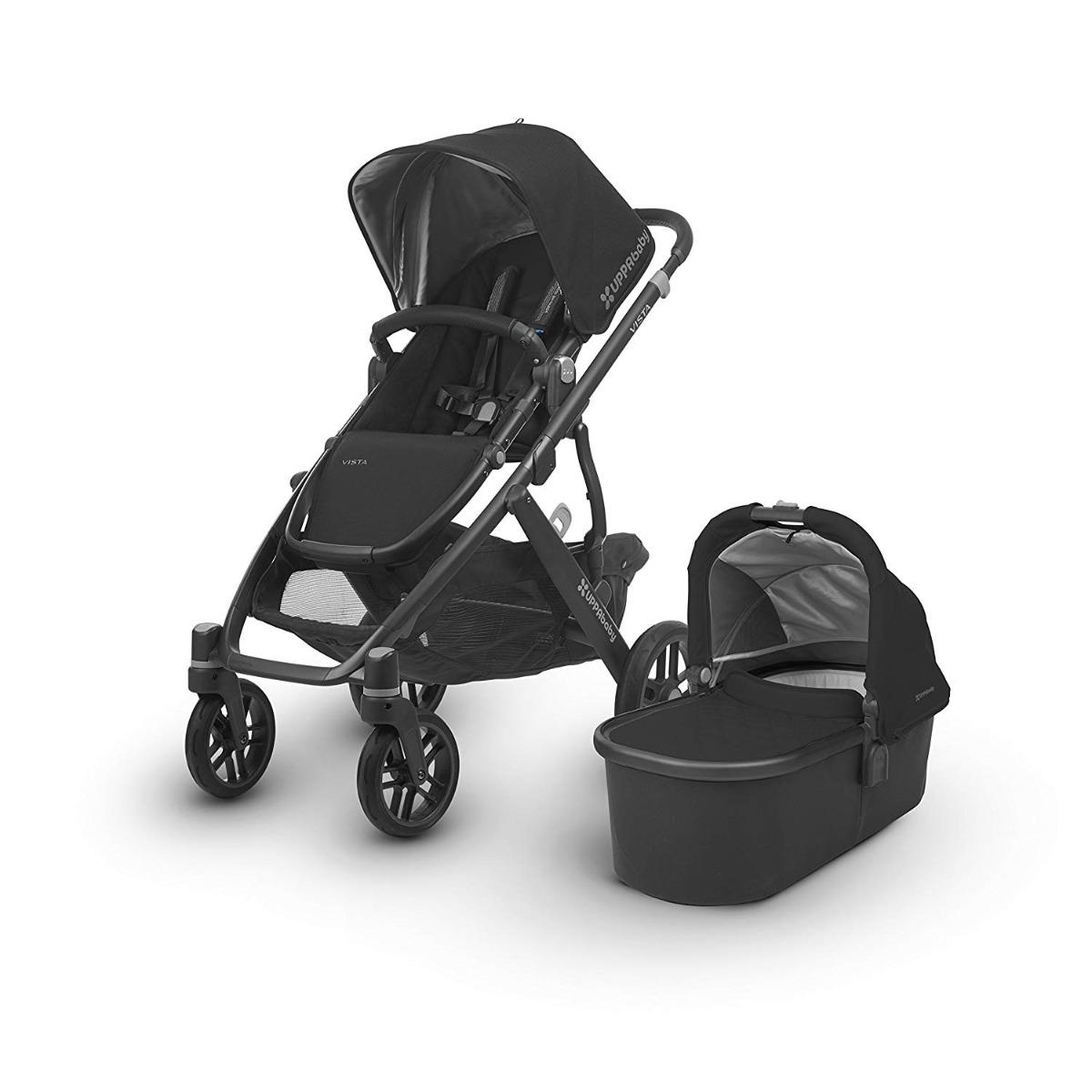 UPPAbaby VISTA Stroller 2018 - Jake (Black/Carbon)