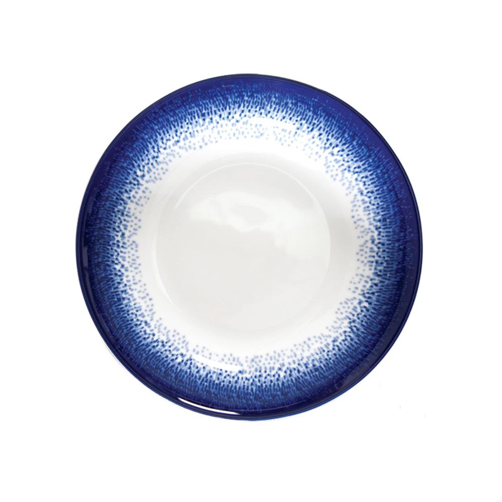Soup Plate 21cm Blue Rain