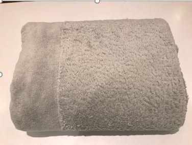 Abyss Habidecor Beach Towel Light Gray
