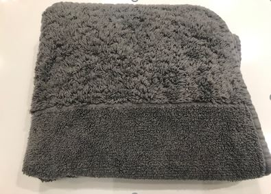 Abyss Habidecor Hand Towel Dark Gray