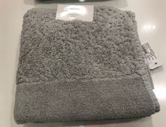 Abyss Habidecor Hand Towel Light Gray
