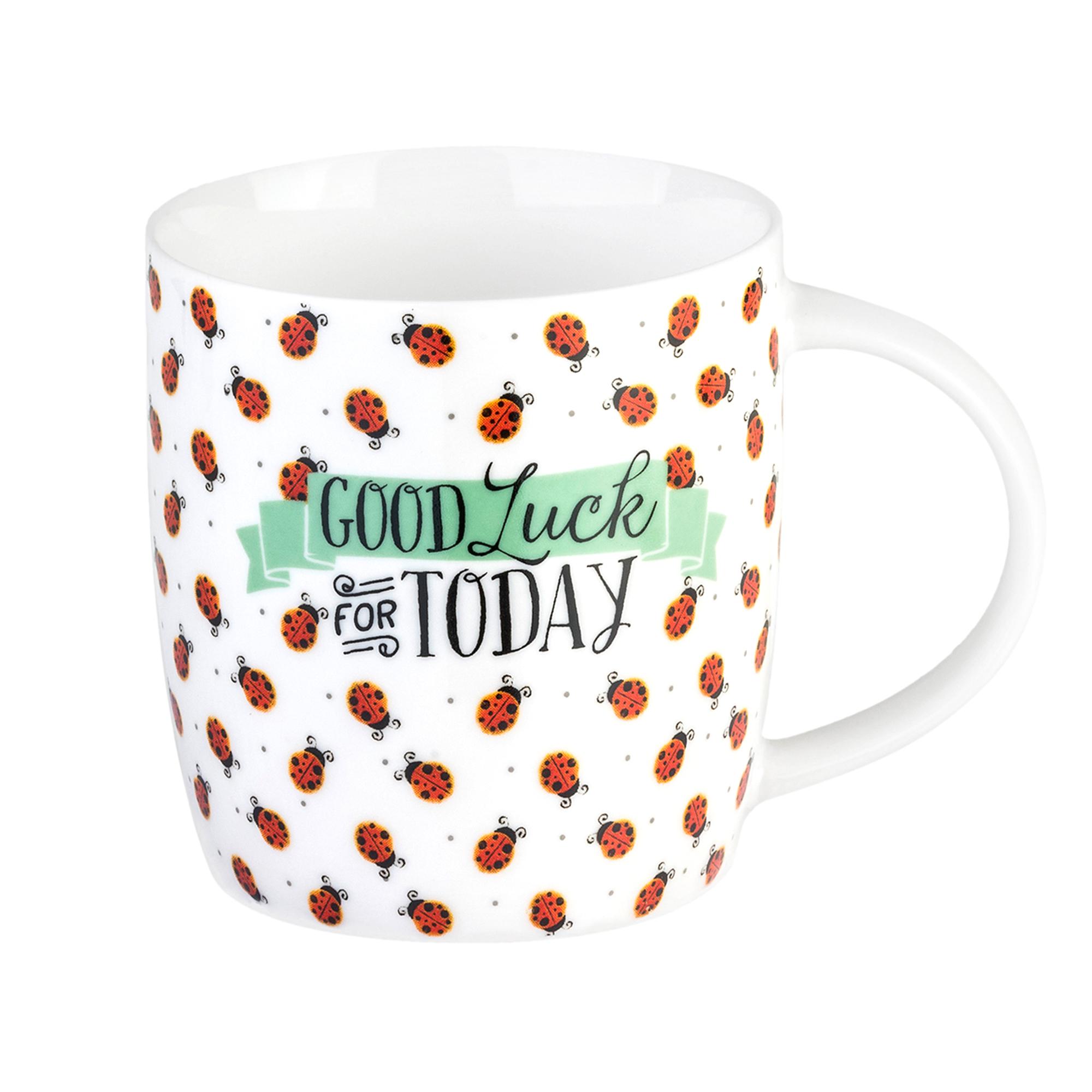 Legami Aphorism Mug Goodluck 350ml