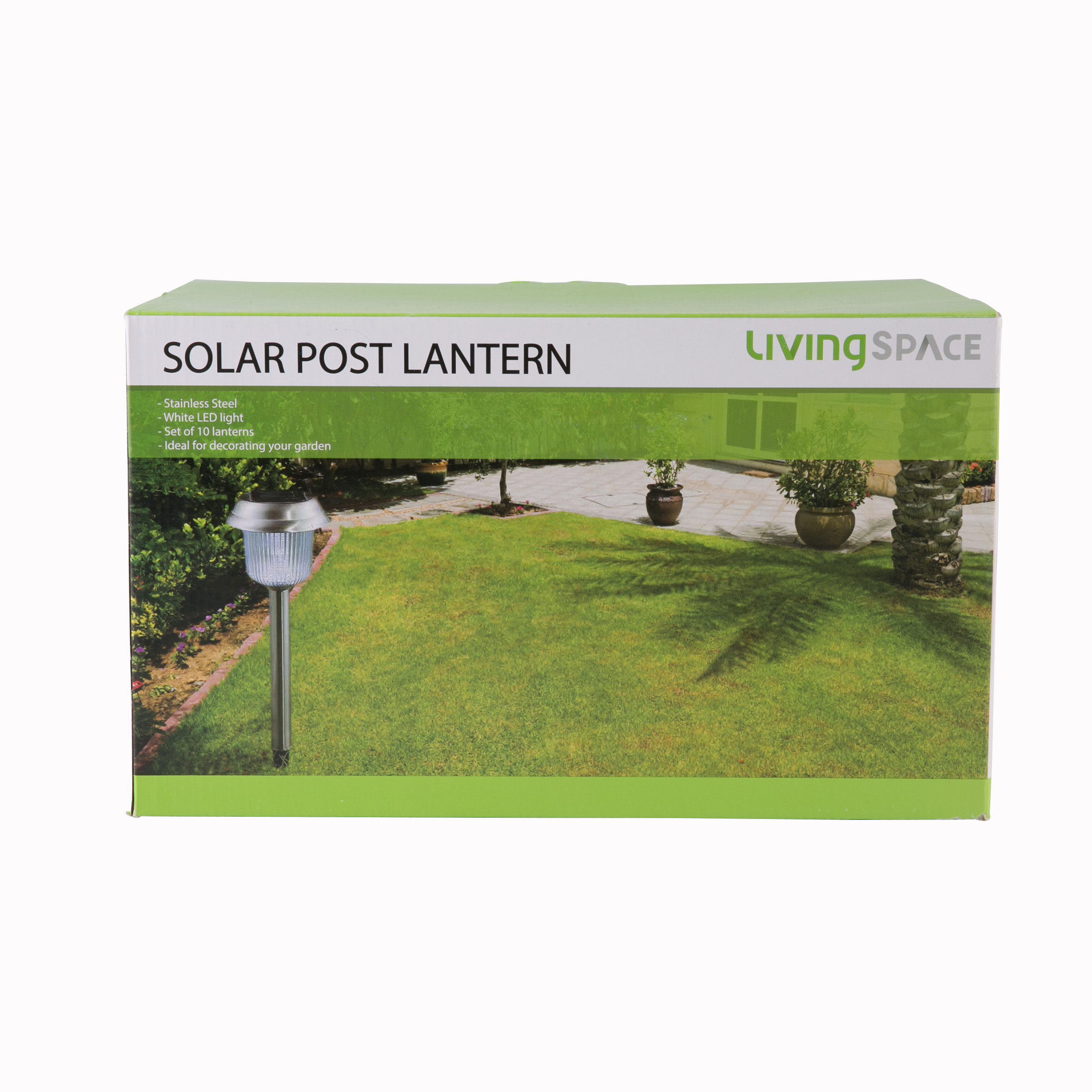 AW-10Pc Stainless Steel Solar Set