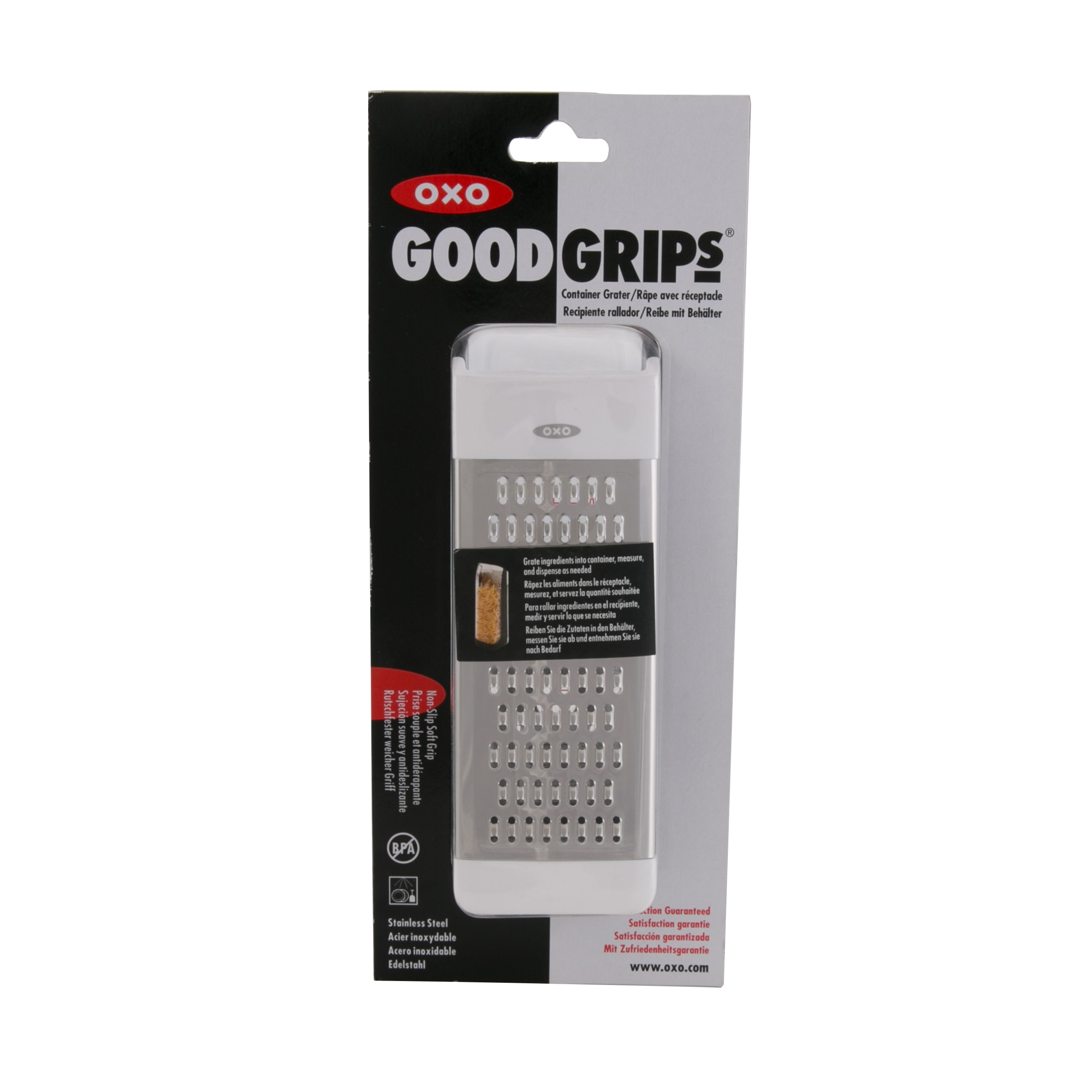 OXO GG CONTAINER GRATER