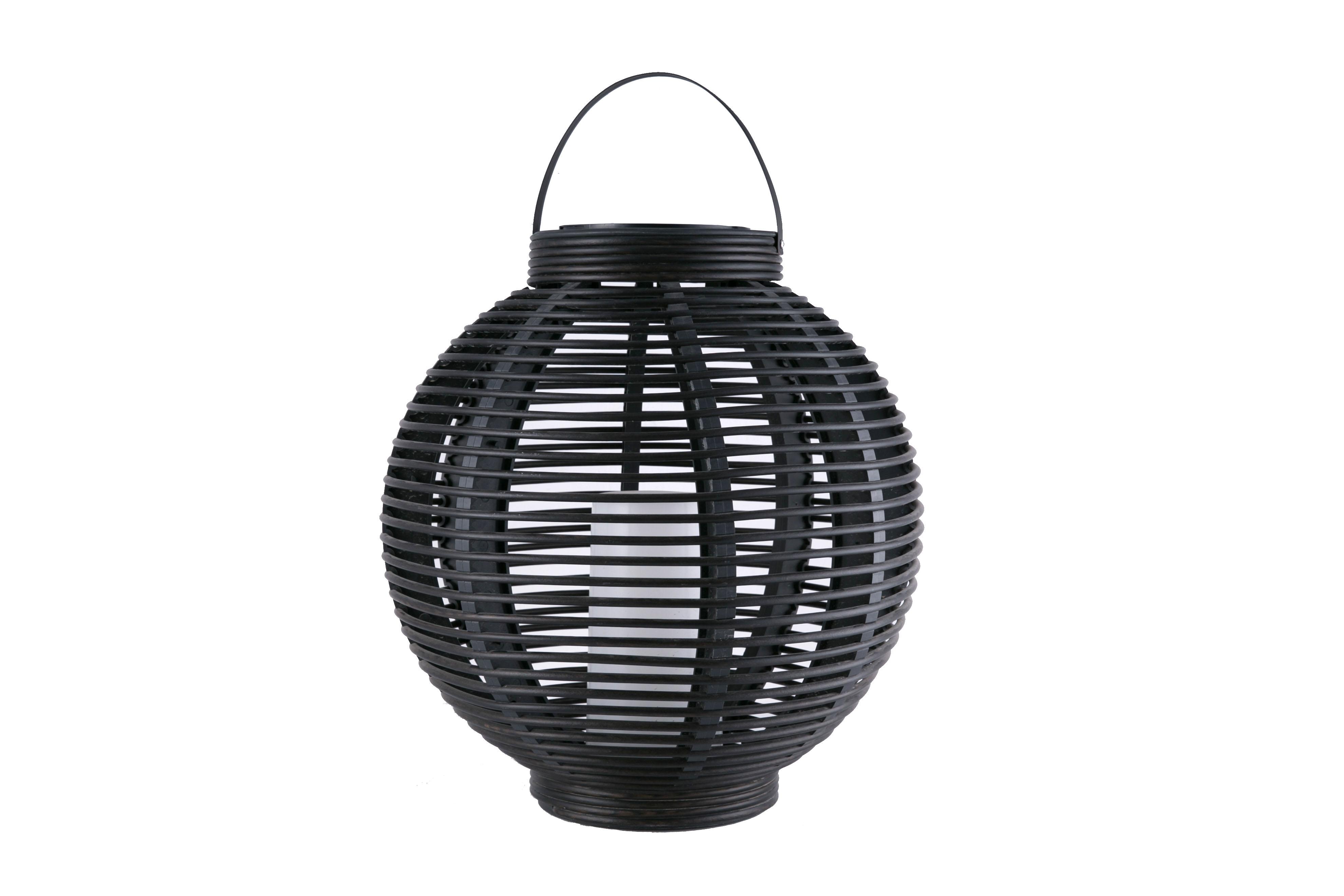 A-Solar Large-Sized Round Rattan Basket