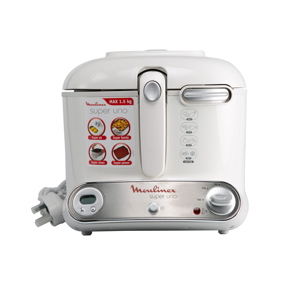 Moulinex White Deep Fryer