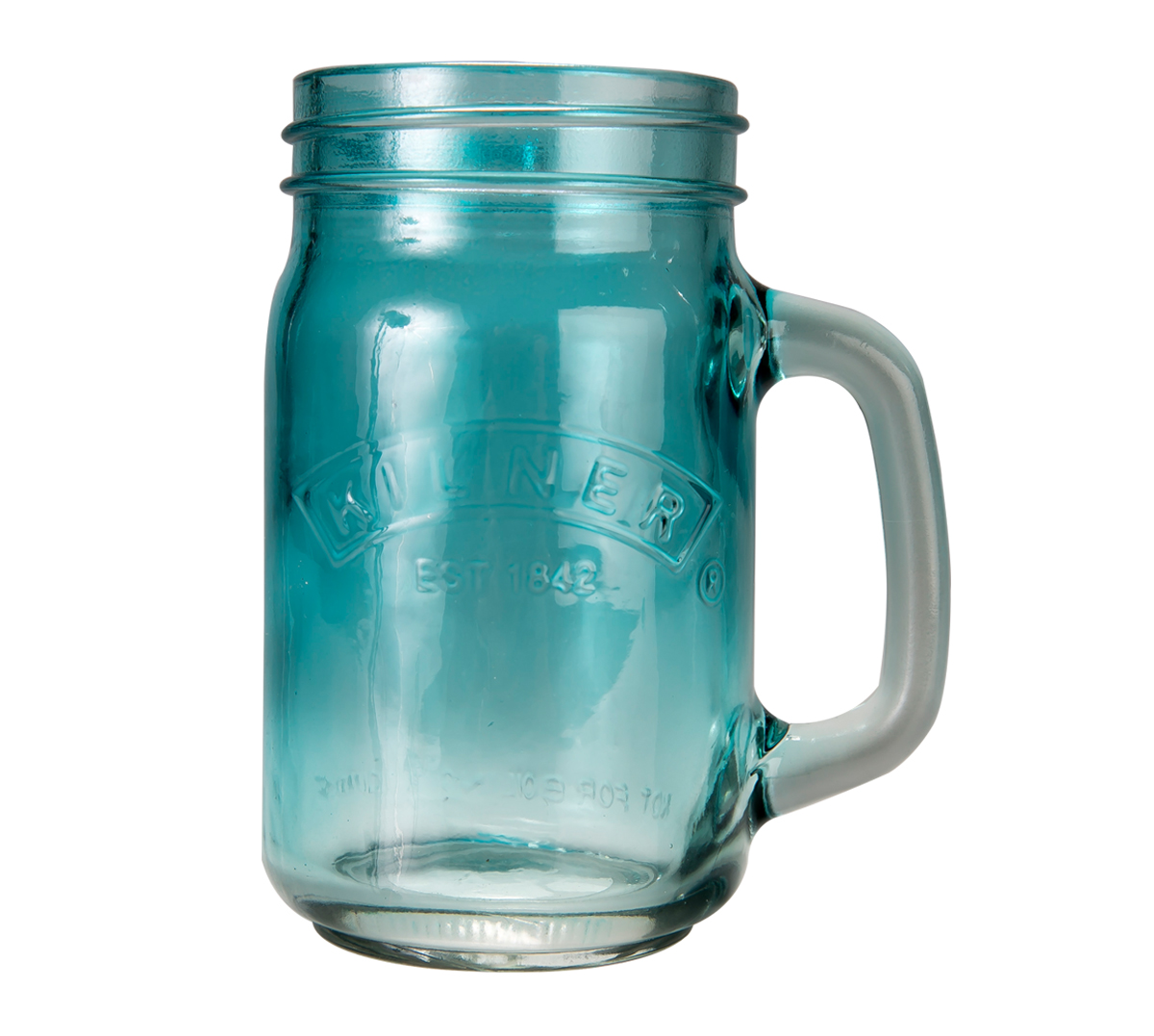 A-Kilner Handled 0.5 Litre Jar BLUE