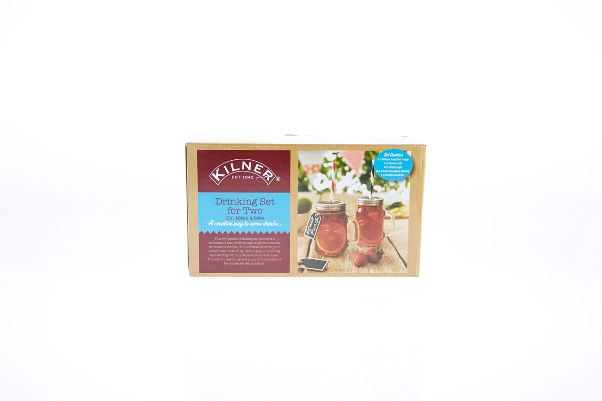 A-Kilner Drinking Set For Two