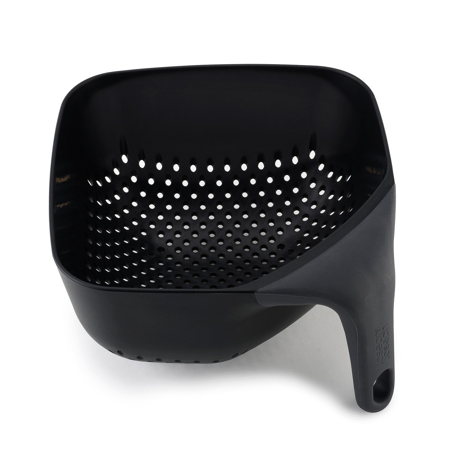 JJ Square Colander Medium Black New