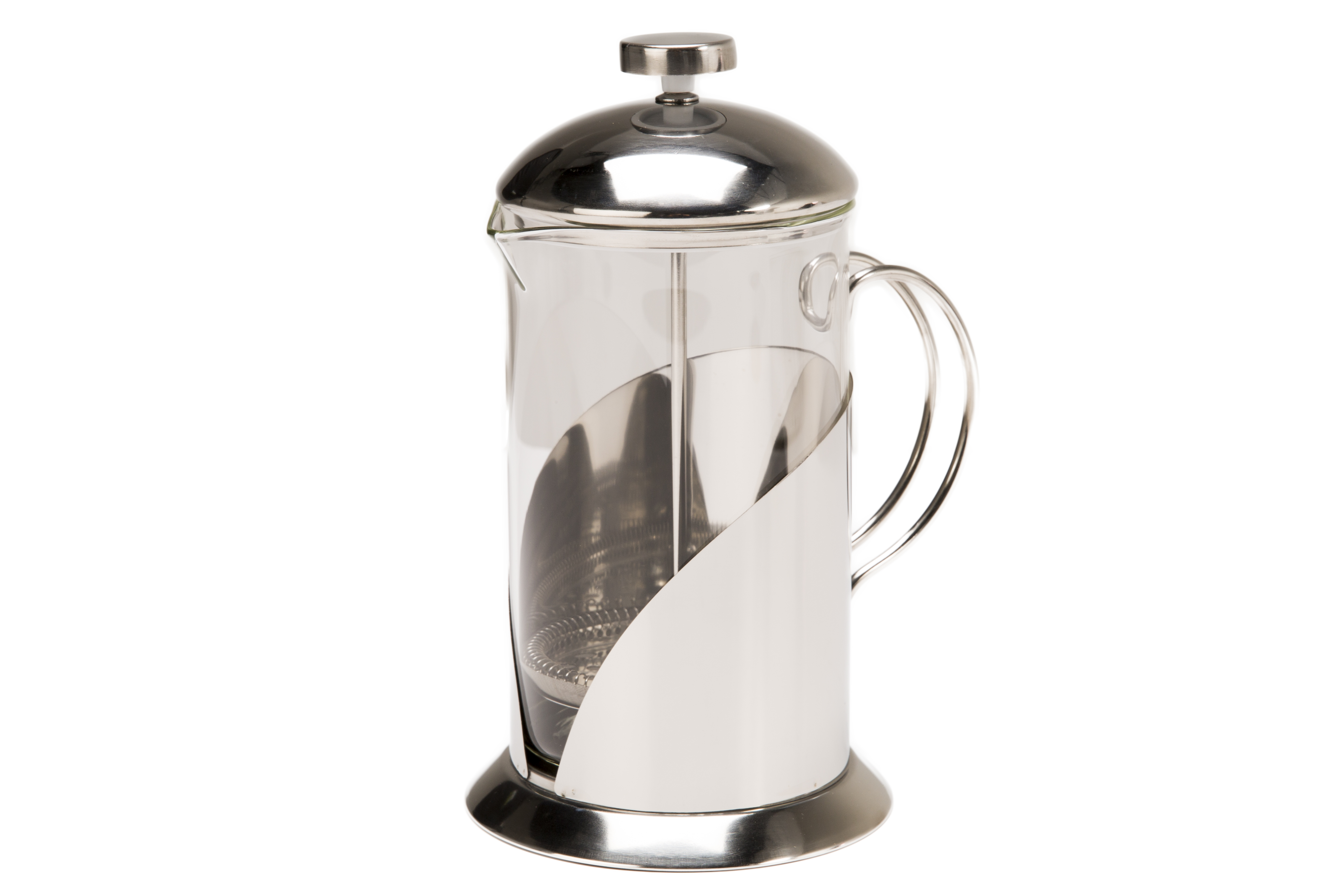 Coffee Pot Borosilicte Glass Chrome800ml
