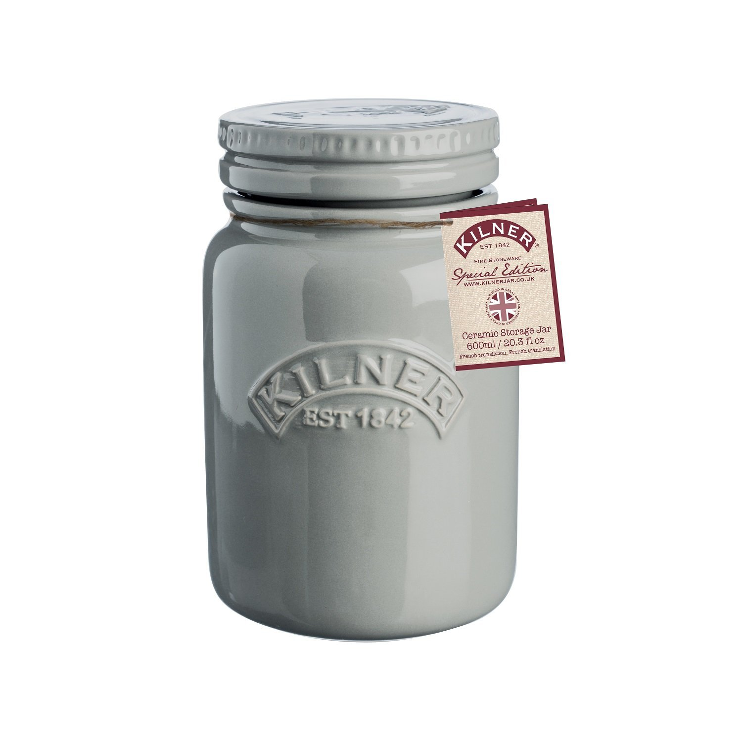 Kilner Ceramic Storage Jar Morning Mist