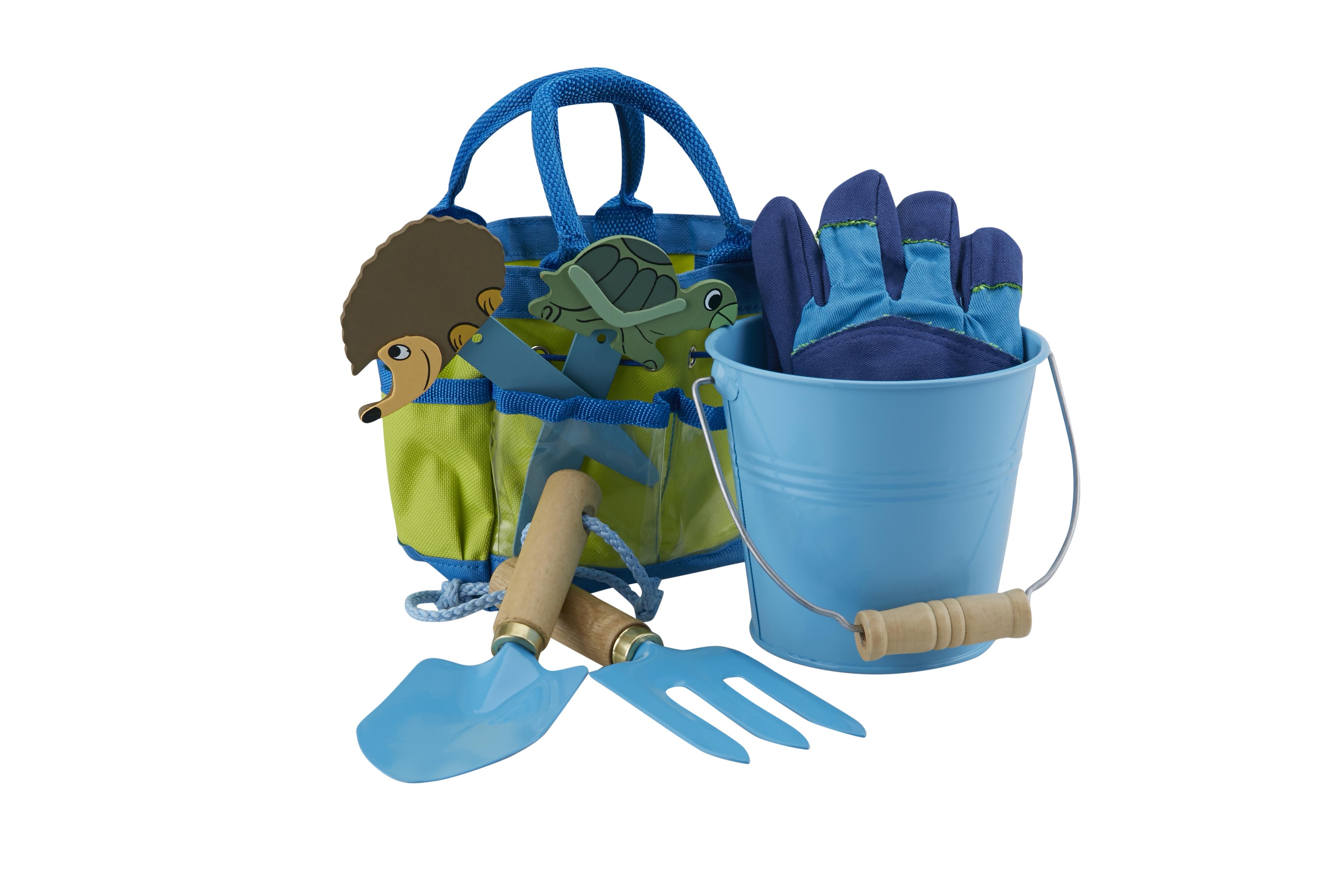 Little Pals Junior Garden Kit Blue