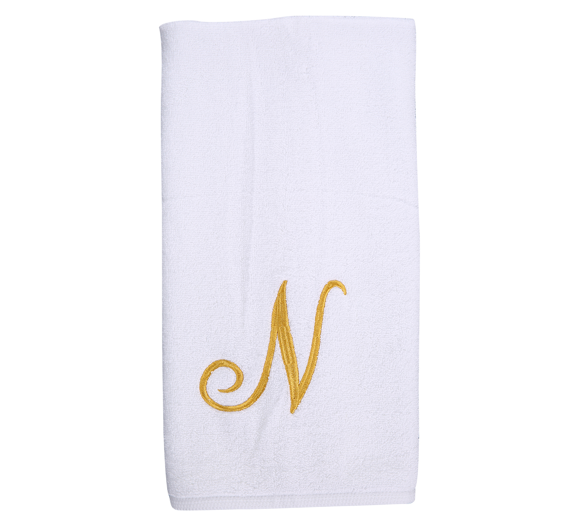 Alphabet Hand Towel 50x80cm Letter N