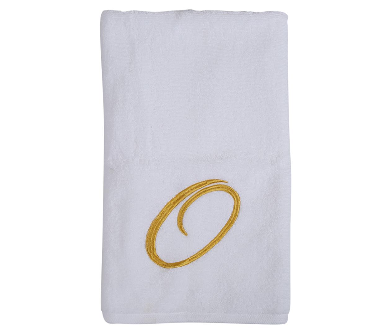 Alphabet Hand Towel 50x80cm Letter O
