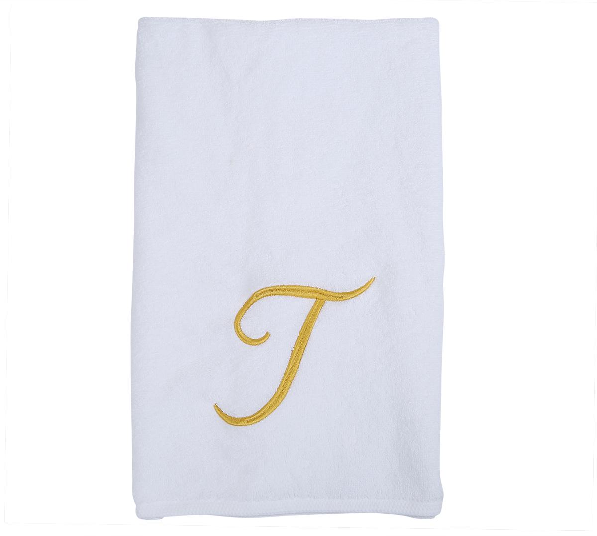 Alphabet Hand Towel 50x80cm Letter T