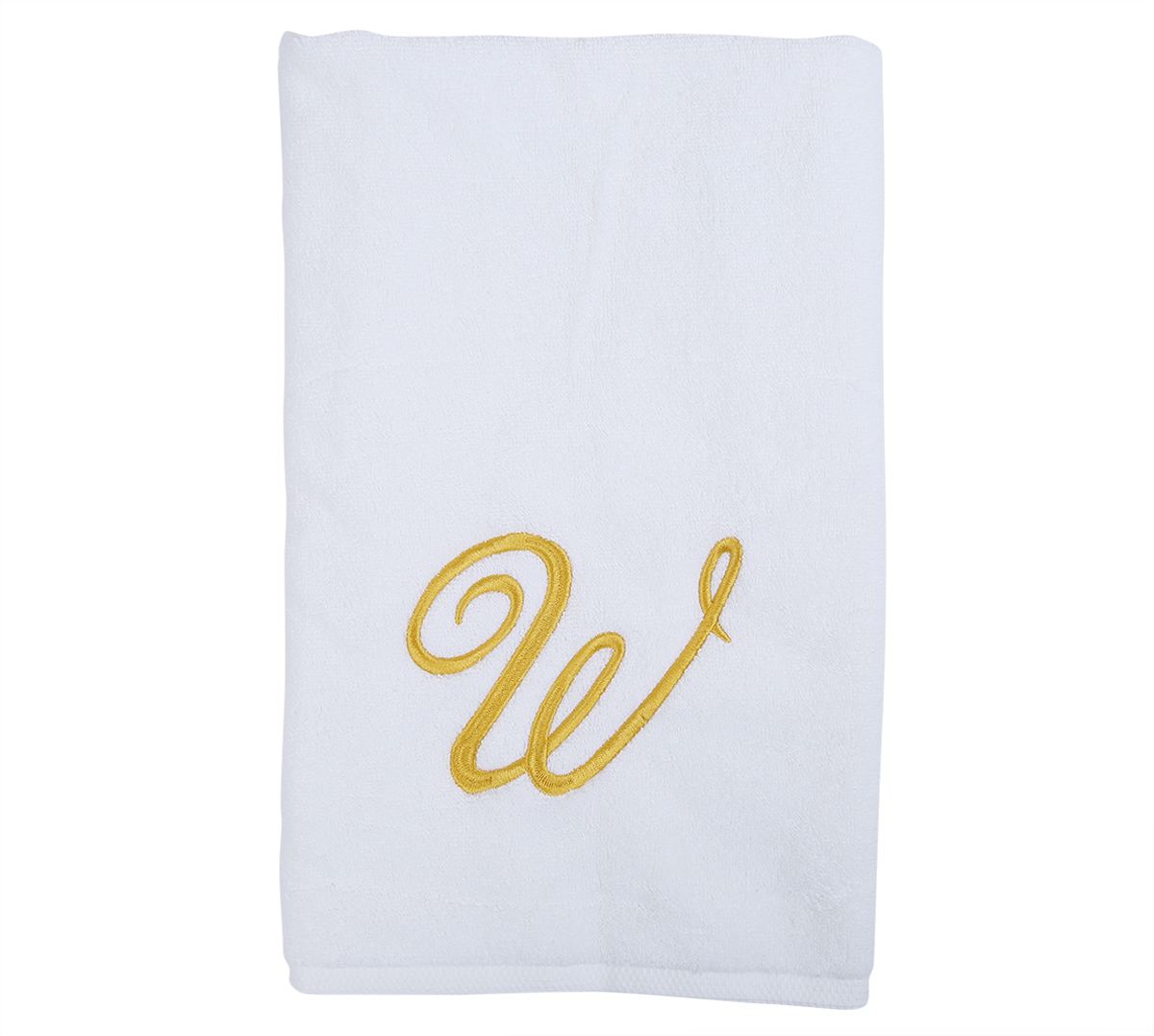 Alphabet Hand Towel 50x80cm Letter W