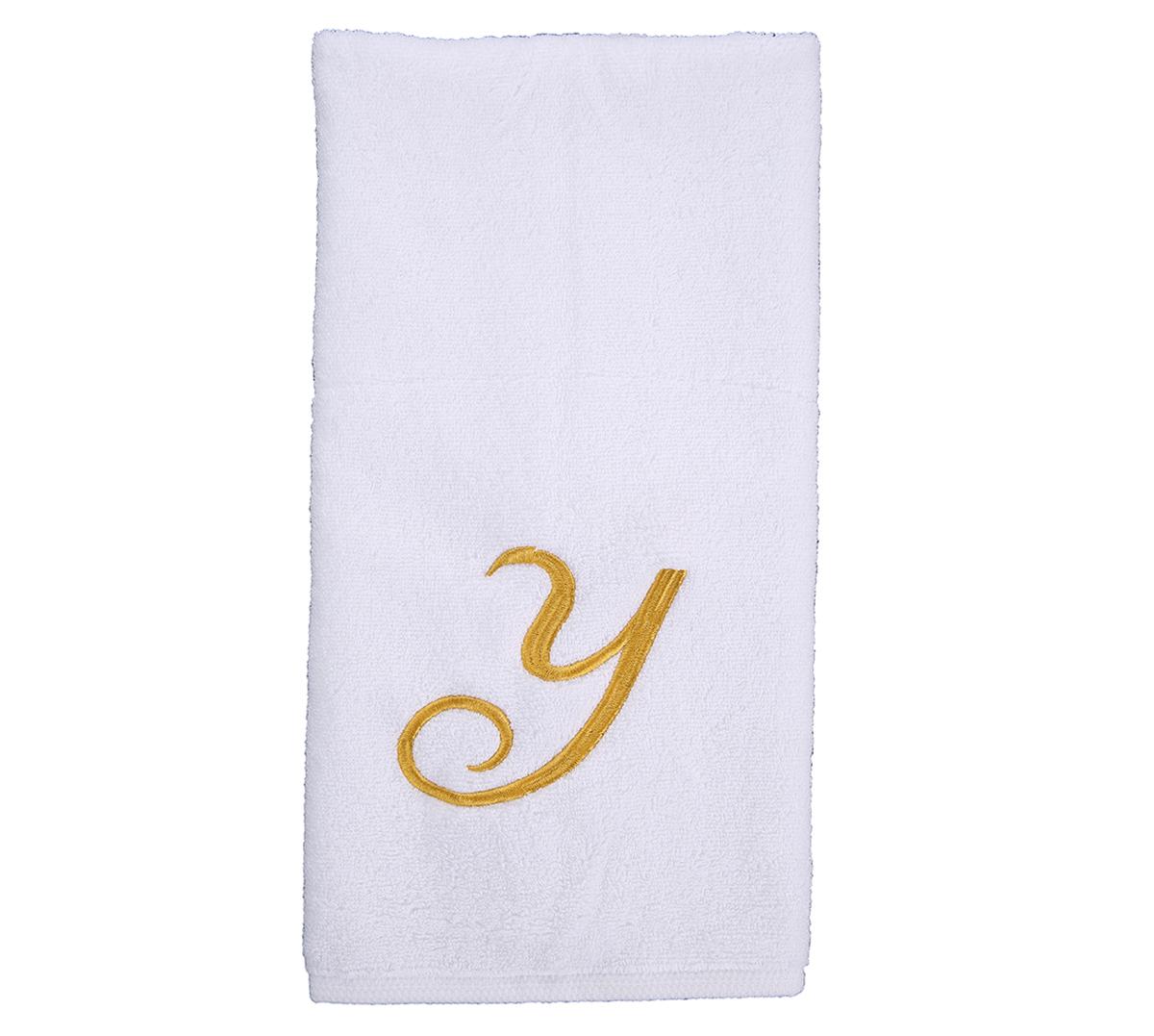 Alphabet Hand Towel 50x80cm Letter Y