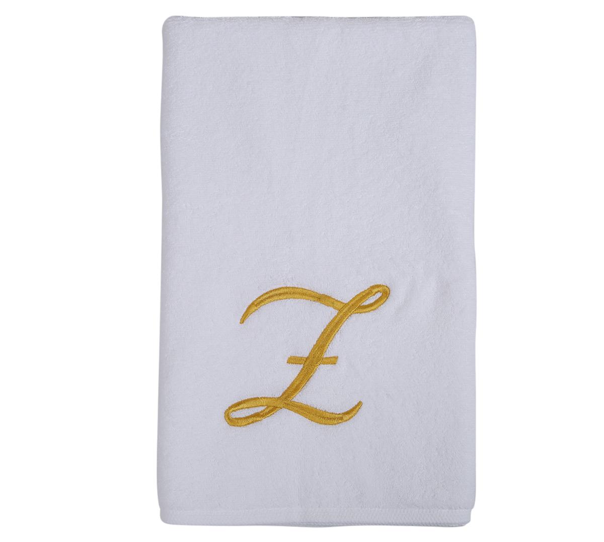Alphabet Hand Towel 50x80cm Letter Z