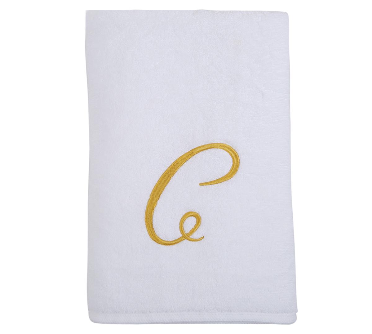 Alphabet Bath Towel 70x140cm Letter C