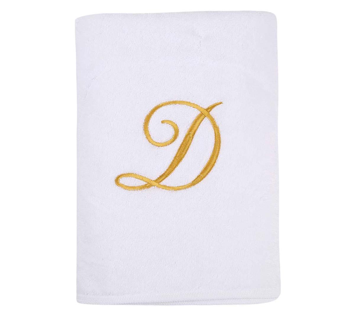 Alphabet Bath Towel 70x140cm Letter D