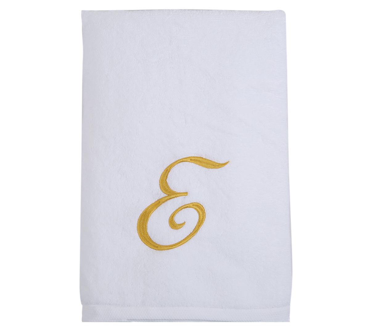 Alphabet Bath Towel 70x140cm Letter E