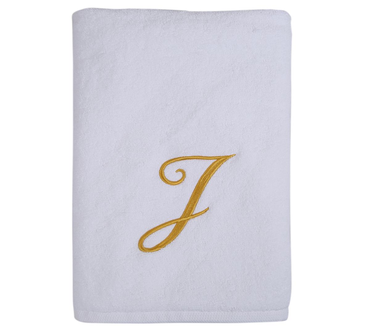 Alphabet Bath Towel 70x140cm Letter J