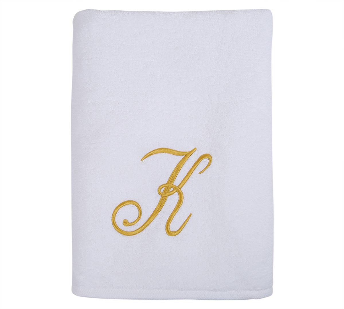 Alphabet Bath Towel 70x140cm Letter K