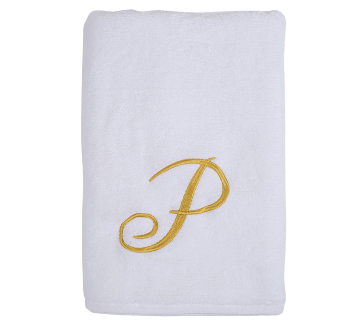 Alphabet Bath Towel 70x140cm Letter P