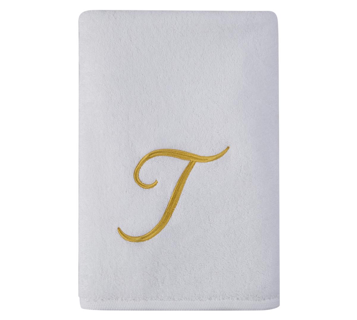 Alphabet Bath Towel 70x140cm Letter T