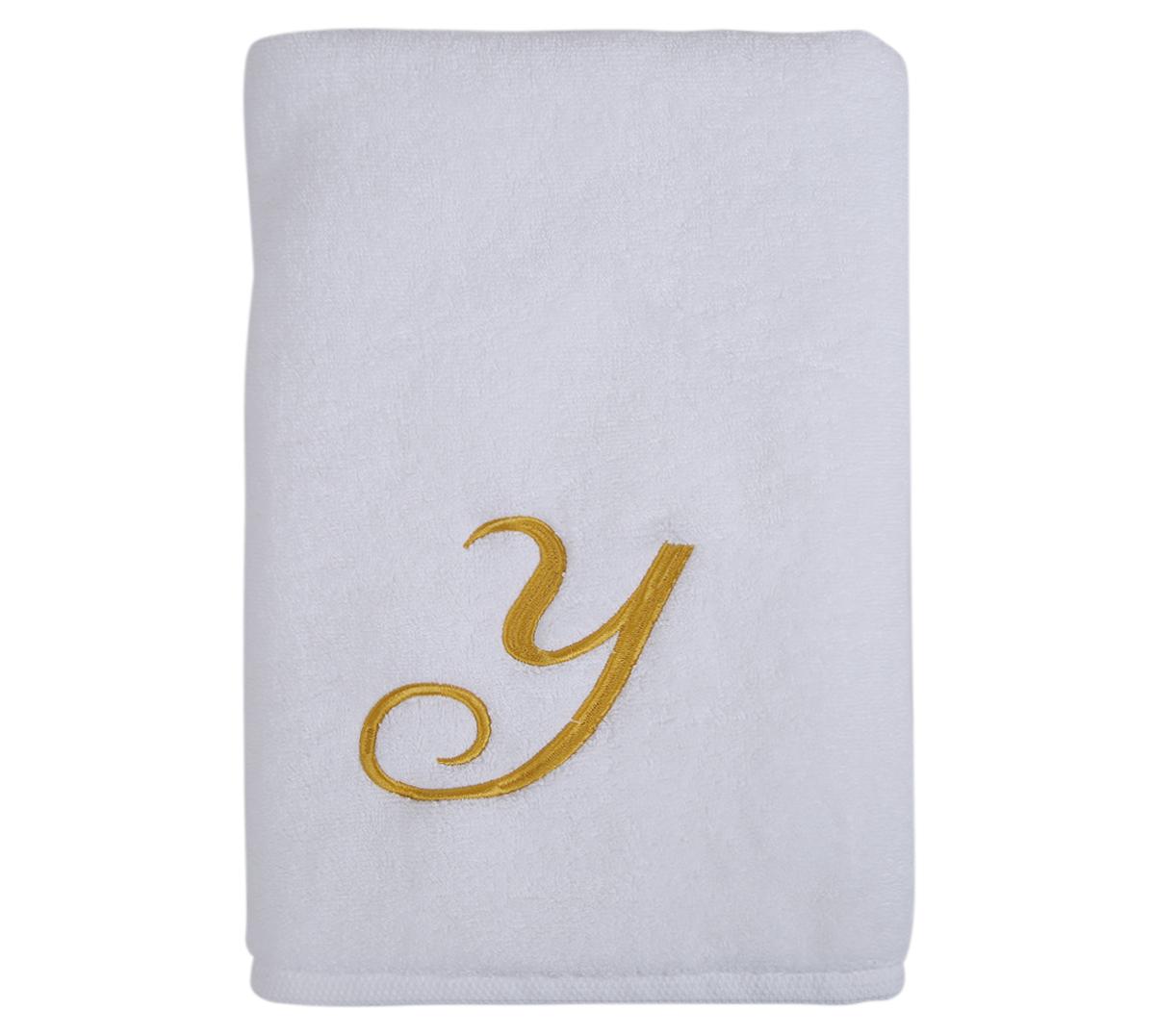 Alphabet Bath Towel 70x140cm Letter Y