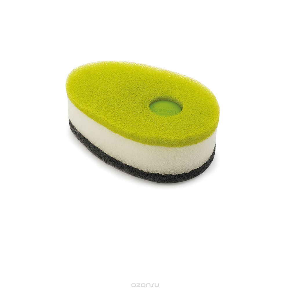 JJ SpongeW/Soap Dispensing Capsule Green