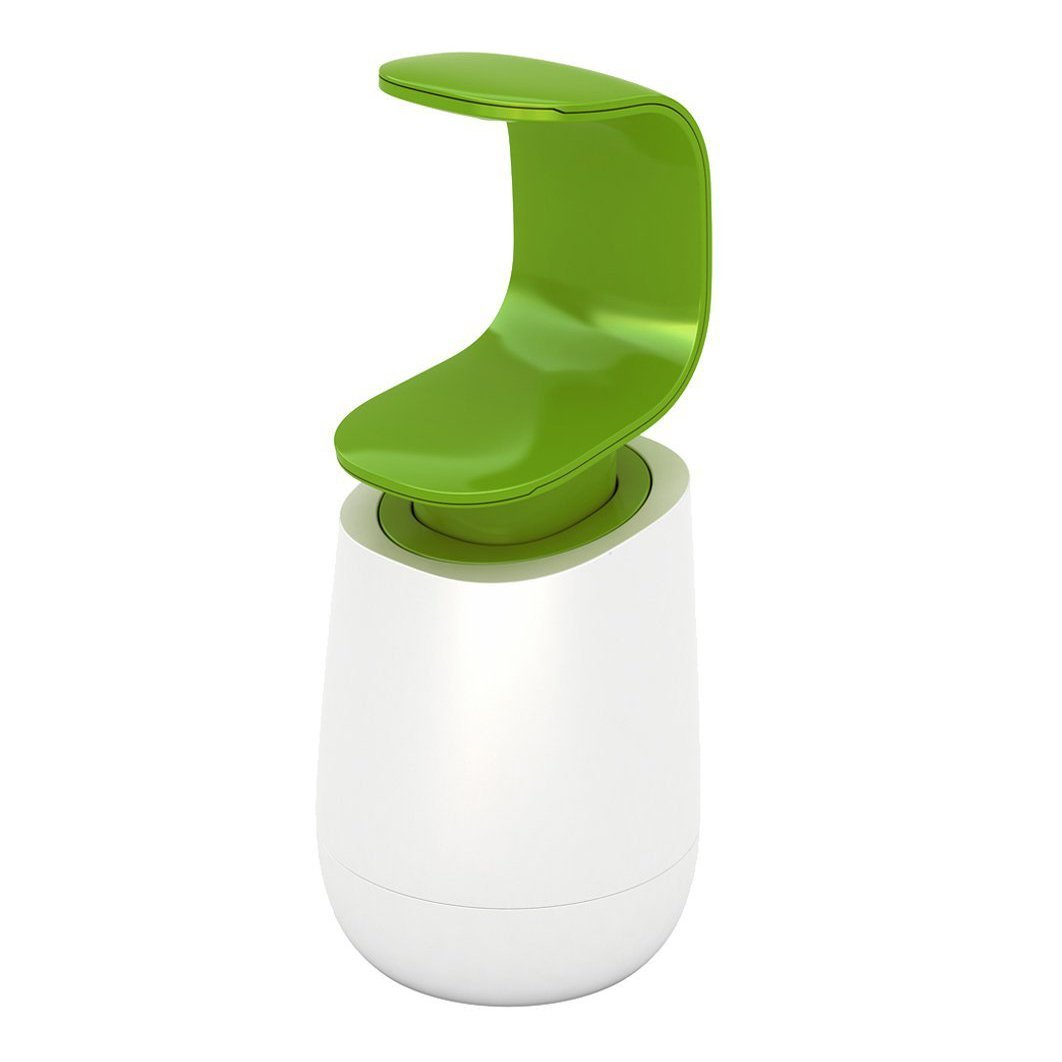 JJ CPump Soap Dispenser White & Green