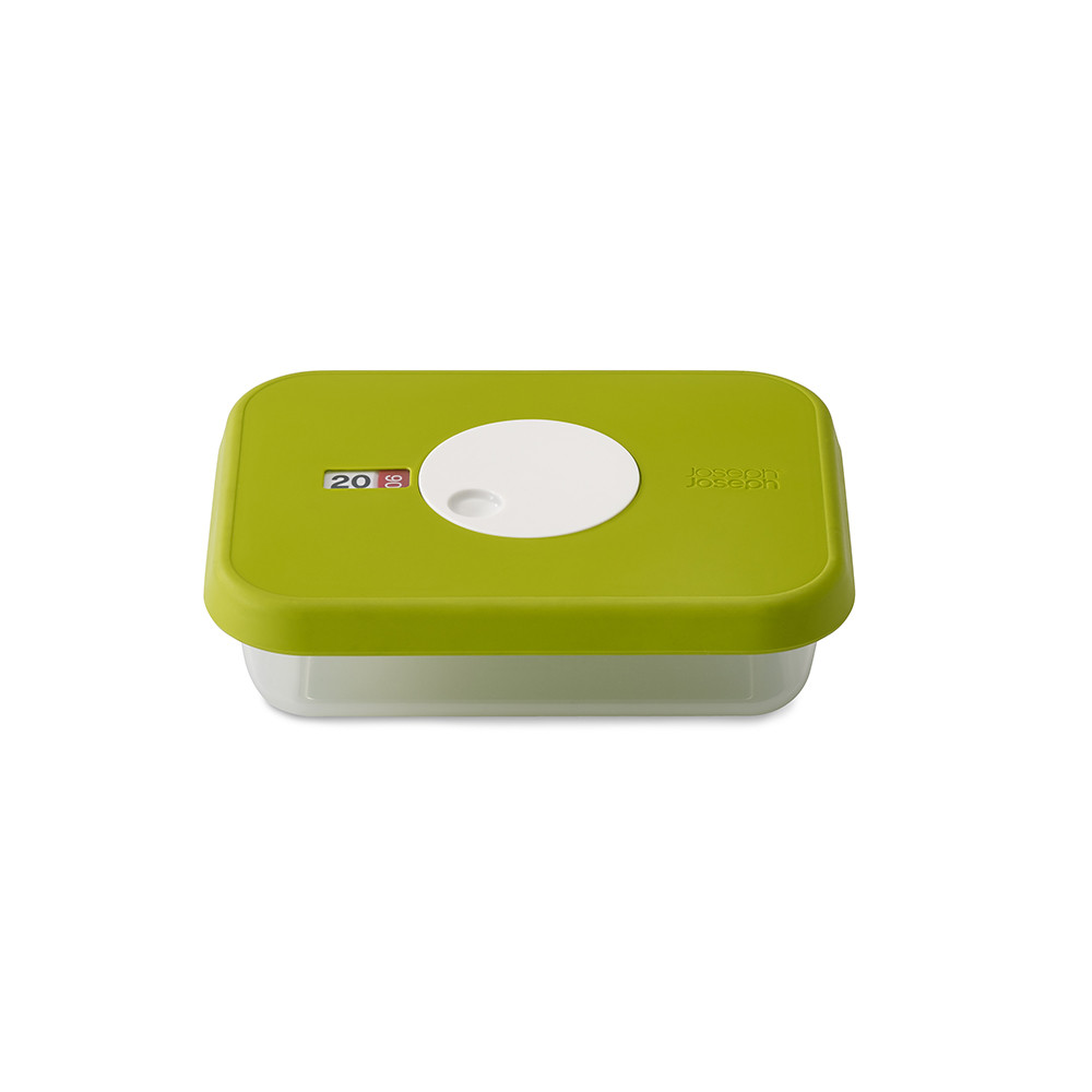 JJ Dial Storage Container 0.7L Green