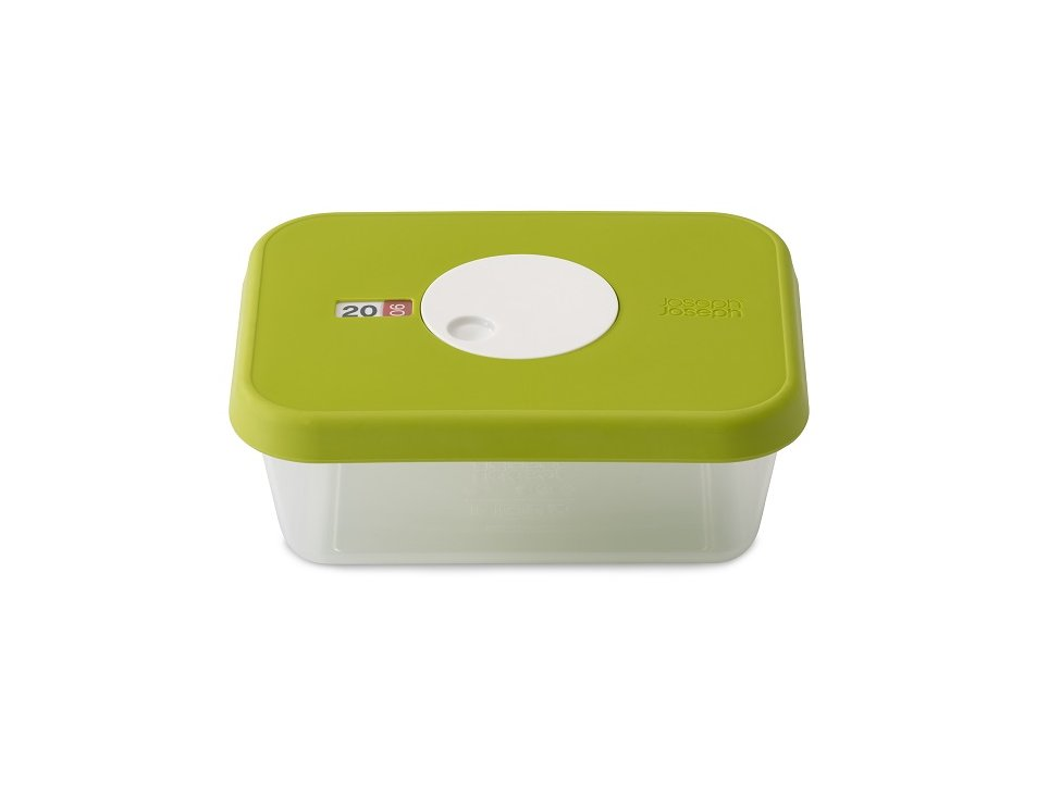JJ Dial Storage Container 1L Green