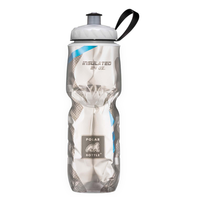 PB Insulated Bottle Fiber Blue 24Oz