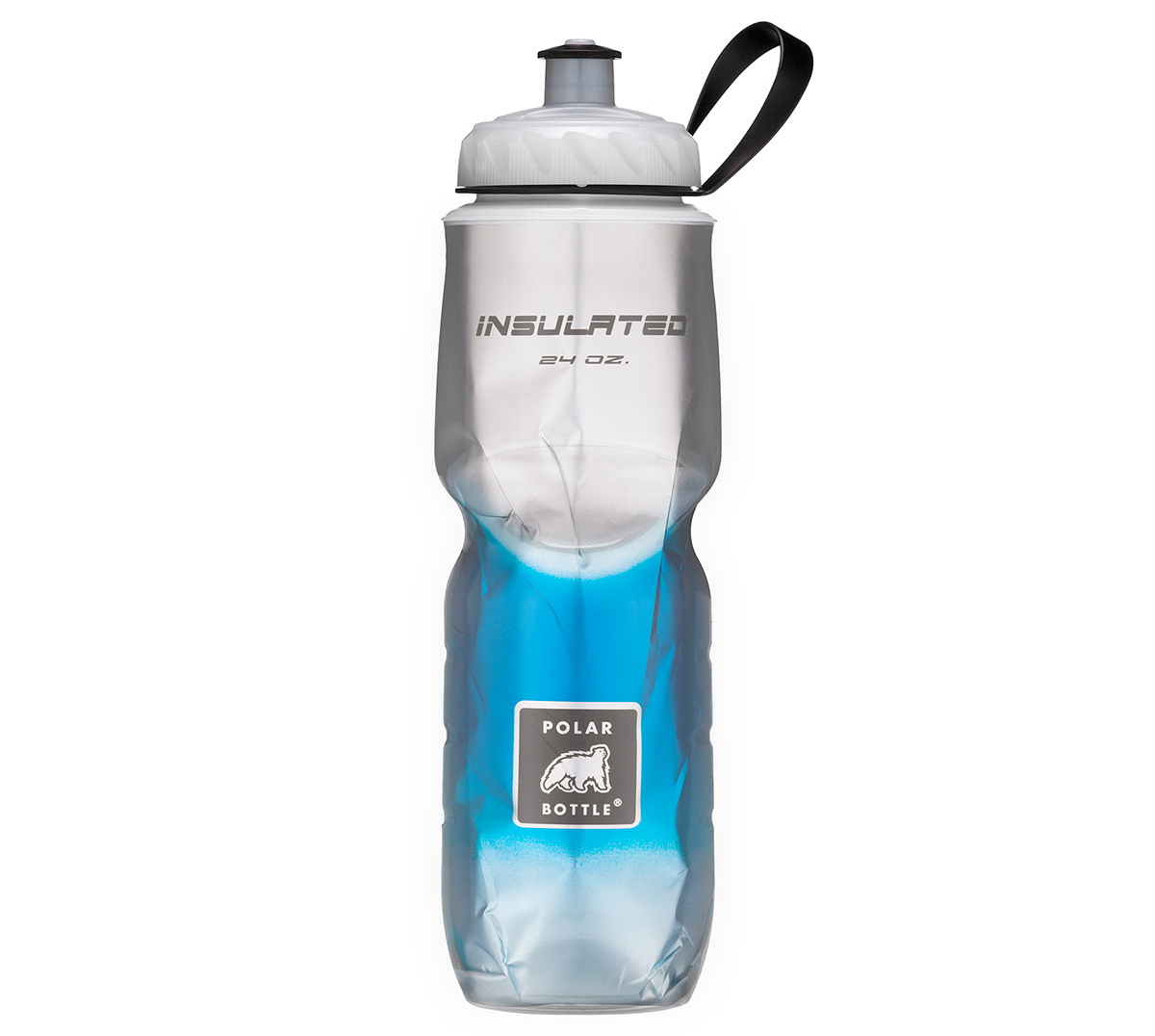 PB Insulated Bottle Fade Blue 24Oz