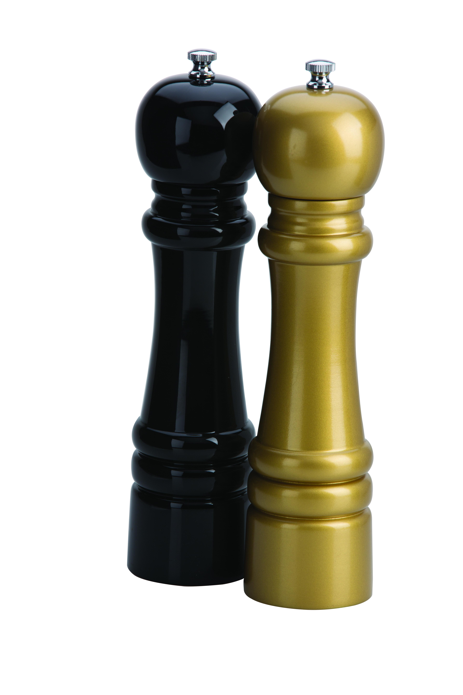 Amefa Grinders 2pc Set Gold/Black 26cm